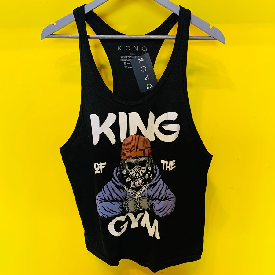 PLAYERA OLIMPICA KING OF THE GYM KONG CLOTHING