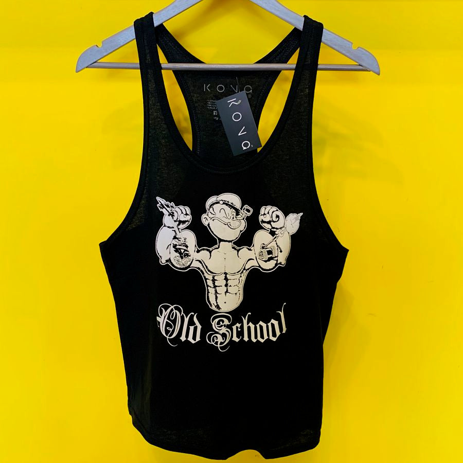 PLAYERA OLIMPICA POPEYE OLD SCHOOL KONG CLOTHING