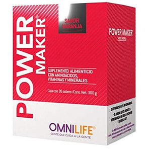 POWER MAKER CAJA 30 SOBRES OMNILIFE