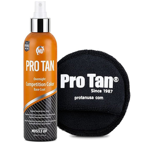 PROTAN COMPETITION COLOR 8.5 OZ BRONCEADOR COMPETENCIA MUSCLE UP - SDM Suplementos Deportivos