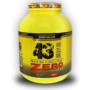 PROTEINA HIDROLIZADA ZERO 6.17 LBS 43 SUPPLEMENTS