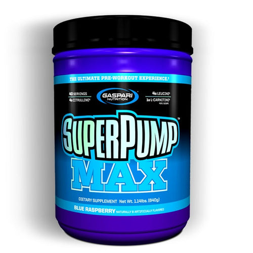 SUPER PUMP MAX 40 SERV GASPARI NUTRITION