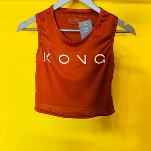 CAMISETA TOP NARANJA UNITALLA KONG CLOTHING