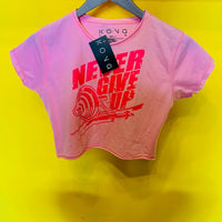 TOP NEVER GIVE UP UNITALLA KONG CLOTHING