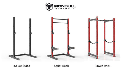 Squat Stand vs. Squat Rack vs. Power Rack: Which is Best for You?