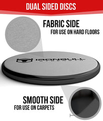 black-gray advanced gliding discs features