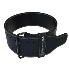 black 10mm suede powerlifting belt