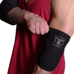 black elbow protection sleeves for fitness