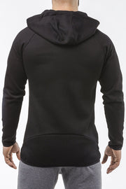 black iron bull strength high quality soft cotton zip up hoodie