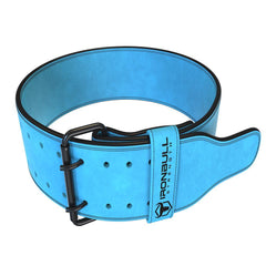 cyan 10mm suede powerlifting belt