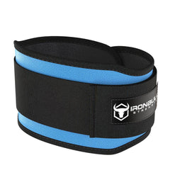 cyan 5 inches weight lifting belt for powerlifting