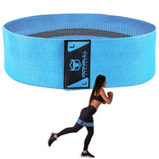 large-cyan large hip circle resistance band