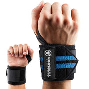 black-cyan iron bull wrist wraps wrist protection