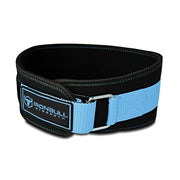 black-sky-blue women weight lifting belt iron bull strength