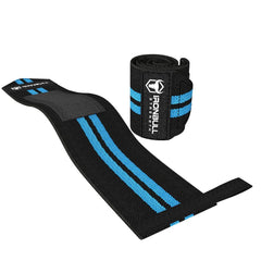 black-cyan wrist protection wrap iron bull strength