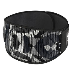 camo-white iron bull strength 6 inches nylon powerlifting belt