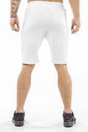 cream comfortable soft workout shorts
