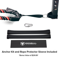 all free anchor kit included with battle rope