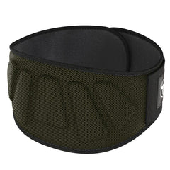 army-green iron bull strength 6 inches nylon powerlifting belt