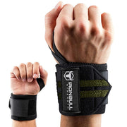 black-army-green iron bull wrist wraps wrist protection