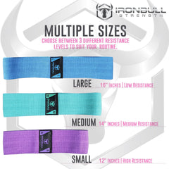 all hip resistance bands size chart