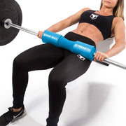 cyan iron bull strength squat pad hip thrust
