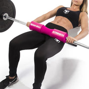 pink iron bull strength squat pad hip thrust