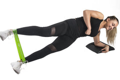 mini resistance bands side plank iron bull strength