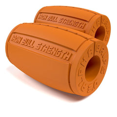 orange Alpha Grips 3.0 inches Iron Bull Strength