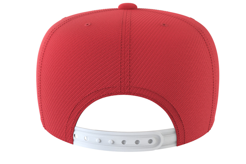 red snapback iron bull strength