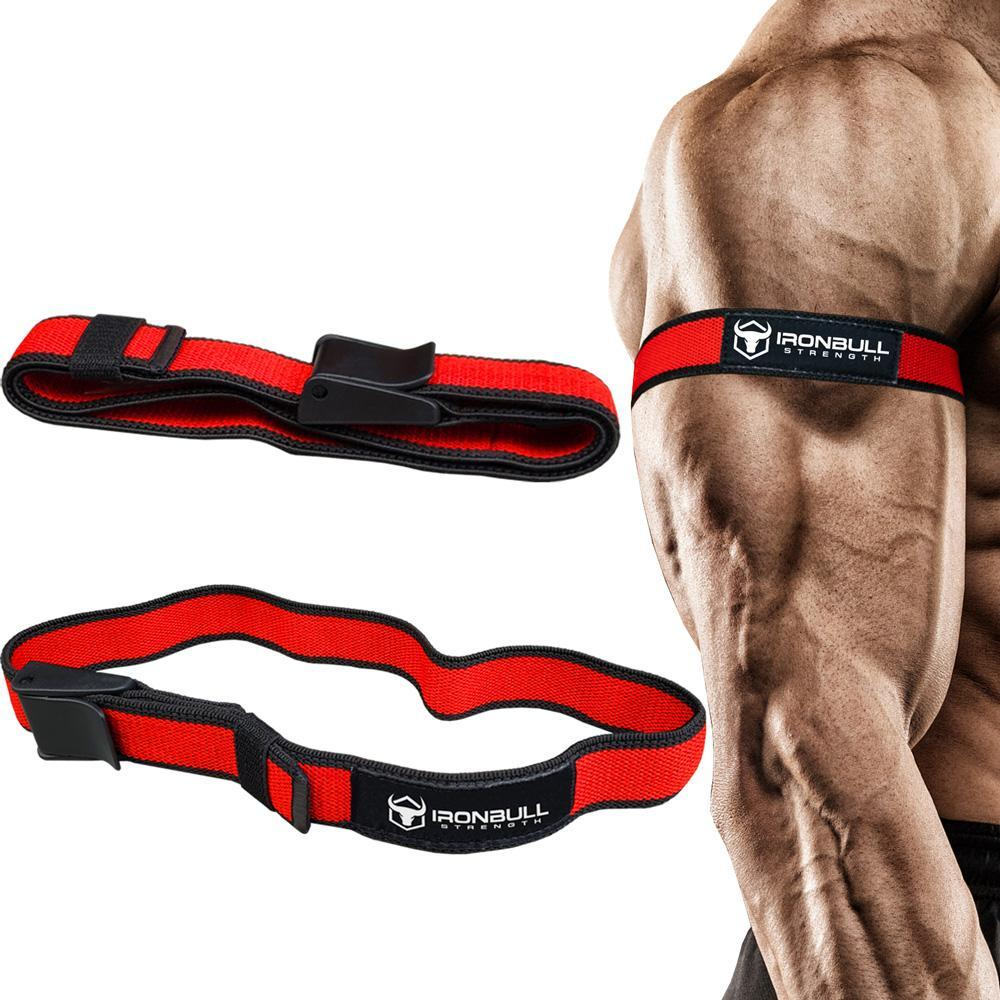 Blood Flow Restriction Band Occlusion Training Belt Upper Arm Fitness Strap