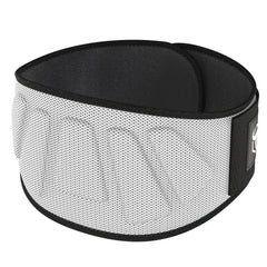 white iron bull strength 6 inches nylon powerlifting belt