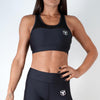 black women ultra soft stretchy support mesh top sports bra