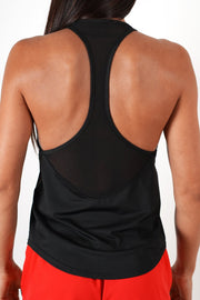 black women tank top performance series racer back