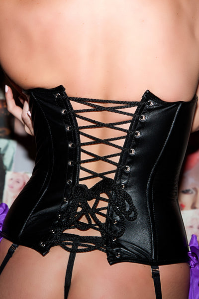 Madam Dee Leather Corset