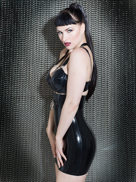 Devotion Latex Exposure Dress