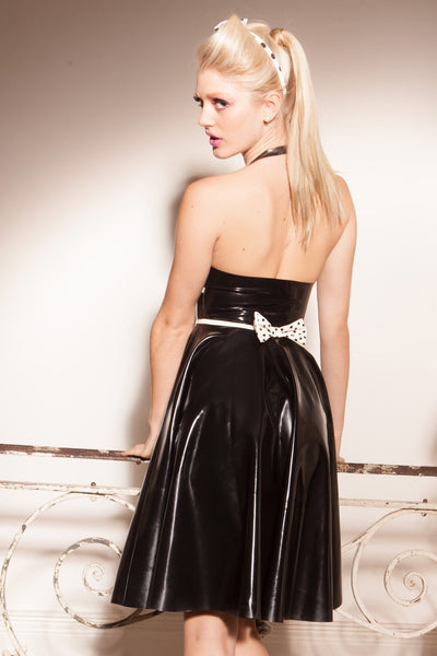 50's Inspired Latex Dreamgirl Swing Dress