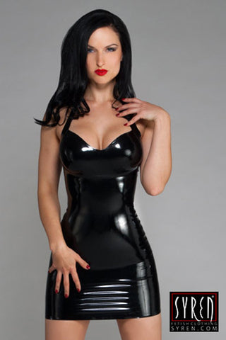 Handmade Latex Halter Dress