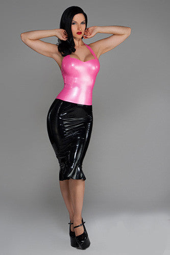 Handmade Latex Darla Halter Top