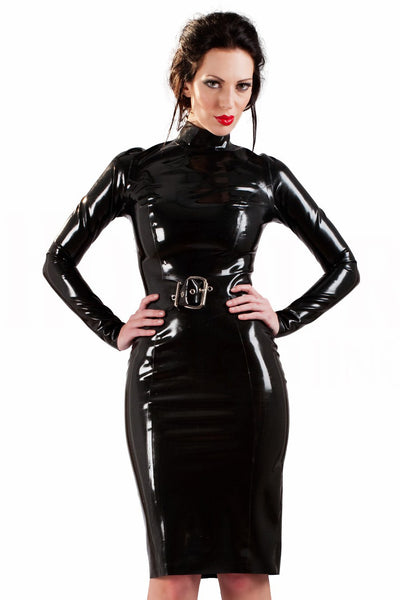 Latex Incognita Pencil Dress