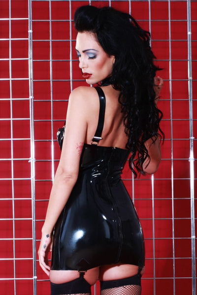 Latex Liberty Suspender Dress