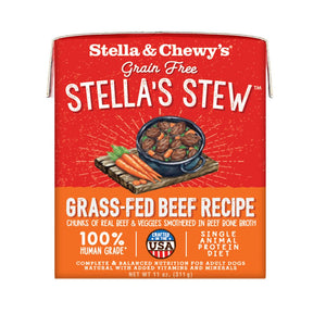 Stella & Chewy's Beef Recipe Stew Grain-Free Wet Dog Food, 11oz