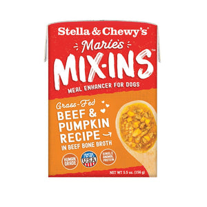 Stella & Chewy's Marie's Mix-Ins Beef & Pumpkin Recipe Wet Dog Food Topper, 5.5 oz
