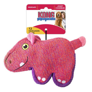 Kong PipSqueaks Hippo Dog Toy