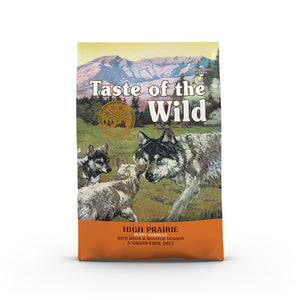 Taste Of The Wild High Prairie Puppy Roasted Bison & Venison Dry Dog Food (2 Sizes)