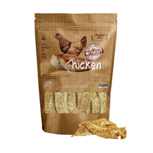 Absolute Bites Air-Dried Chicken Breast Pet Treats (2 Sizes).Happy Hoomans