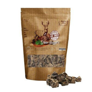Absolute Bites Air-Dried Deer Nuggets Dog Treats, 330g.Happy Hoomans