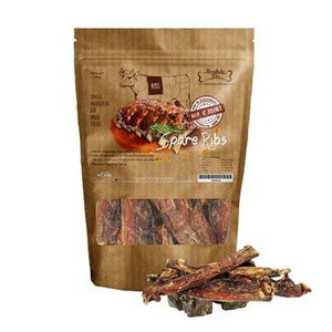 Absolute Bites Air-Dried Veal Spare Ribs Dog Treats (2 Sizes).Happy Hoomans