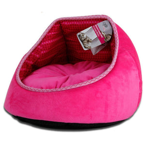 All For Paws Monaco Lounge Bed - Pink.Happy Hoomans