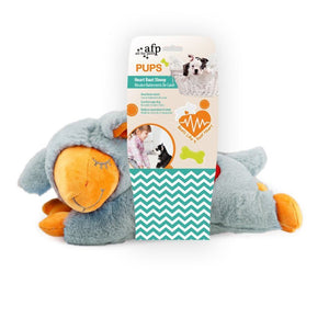 All For Paws Pups Heart Beat Sheep Plush Dog Toy.Happy Hoomans